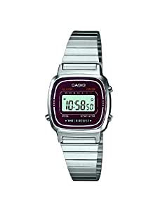 Casio Damen-Armbanduhr XS Casio Collection Digital Quarz Edelstahl LA670WEA-4EF