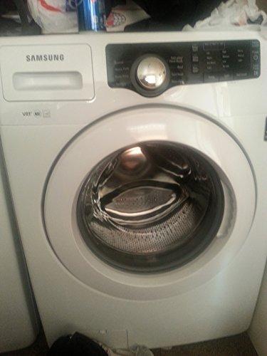 Samsung White 3.6 Cu Ft Doe Front Load Washer & 7.3 Cu. Ft. Electric Dryer Wf361Bvbewr_Dv361Ewbewr