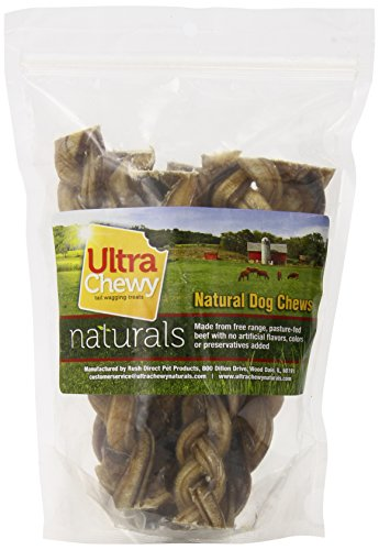 rush direct ultra chewy naturals braided bully sticks for dogs 6 inch new fre ebay. Black Bedroom Furniture Sets. Home Design Ideas
