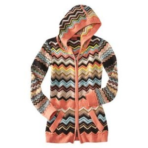 Missoni for Target Tunic Hoodie for Girl Size LARGE