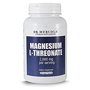DR MERCOLA Magnesium L-Threonate Capsules, 120 Count