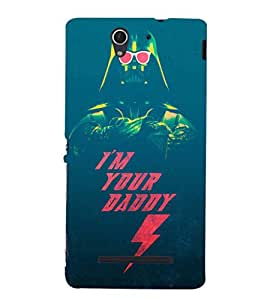EPICCASE Im your daddy Mobile Back Case Cover For Sony Xperia C3 (Designer Case)