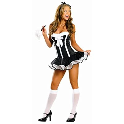 Sexy Costumes: Hot babes in 2 Piece Super Sexy Maid Costume