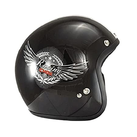 Casque moto jet CHOK RACING 15