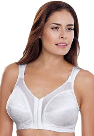 Playtex Women's Plus Size Bra, Front Hook 18 Hour Just My ...