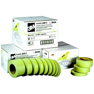 3m 2600 masking tape 3/4in x 60yds