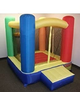 "My Bouncer Little Round Castle Bounce 72"" L x 72"" W x 72"" H Ball Pit Popper w/ Phthalate Free Puncture Resist Nylon Material"