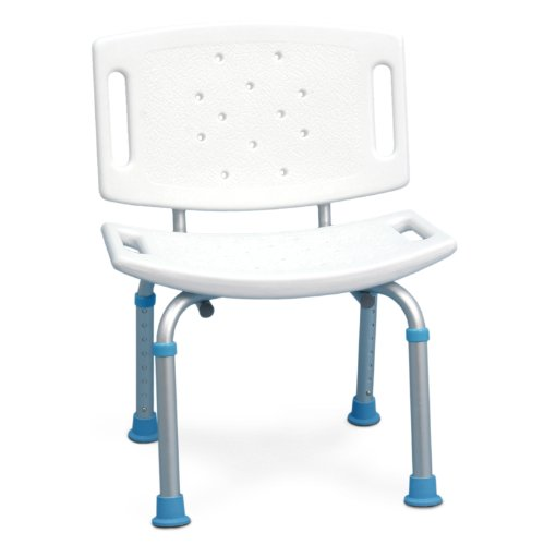 AquaSense Adjustable Shower Non Slip Backrest