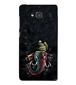 Fuson 3D Designer Back Case Cover For Xiaomi Redmi 2S