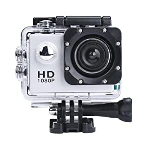 SJ5000 12MP Ultra HD 1080P Waterproof Action Camcorder Sports DV Camera Car Cam Color Siver