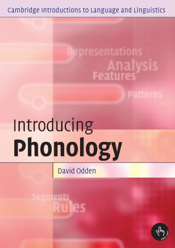 Introducing Phonology (Cambridge Introductions to...