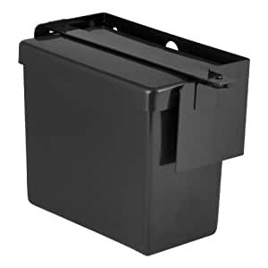 CURT 52090 Lockable Battery Box With Steel Mount/Steel Lock Bar