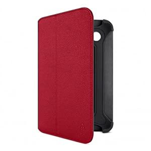 Belkin Bi-Fold Folio Case with Stand for 7 inch Samsung Galaxy Tab - Red