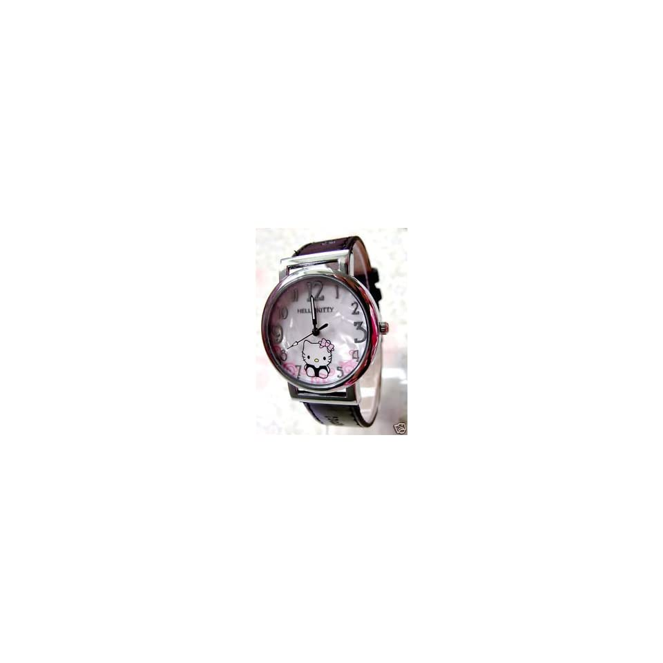 Hello Kitty Ladies Leather Quartz Wrist Watch