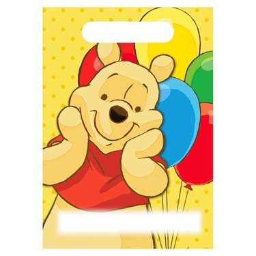 Winnie the Pooh and Pals Favor Bags (8ct) - 1