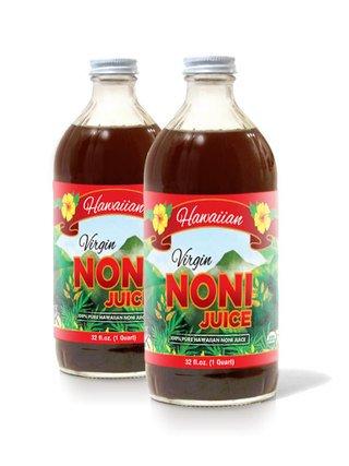 Organic hawaiian noni juice