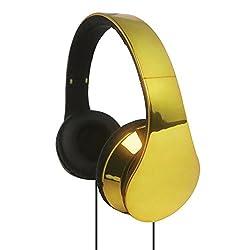 Supersonic High Performance Headphones-Gold