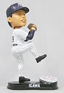 Kei Igawa New York Yankees Limited Edition Platinum Bobble Head Doll (Home) from... by Generic