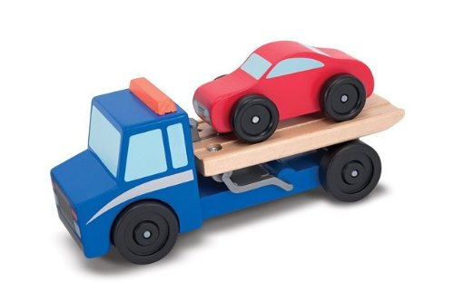 Game / Play Melissa & Doug Flatbed Tow Truck. Toys, Car, Vehicle, Tow, Imaginative, Learning, Wrecker Toy / Child / Kid (Wrecker Flatbed compare prices)