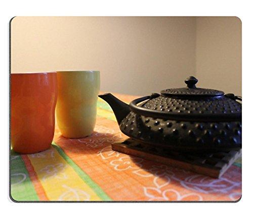 Liili Mouse Pad Teapot Mugs Cast Iron Tea Drink Natural Rubber Material Image 196238