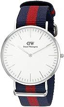 Comprar Daniel Wellington 0201DW - Reloj con correa de acero para hombre, color blanco / gris