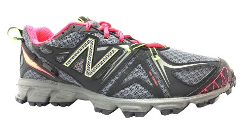 Women's 610v2 New Balance Black/neon Pink Lace Up Trail Running Trainers