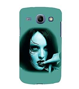 printtech Vampire Girl Blood Back Case Cover for Samsung Galaxy J5 / Samsung Galaxy J5 J500F