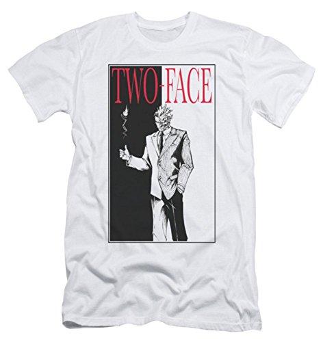 DC Batman Two Face Slim Fit T-Shirt
