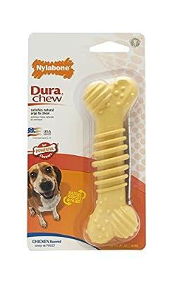 Nylabone Dura Chew Textured Bone, Chicken Flavor