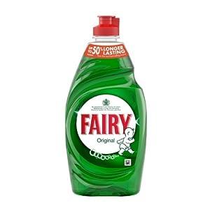 Fairy Original Washing Up Liquid 433ml (Pack of 10)