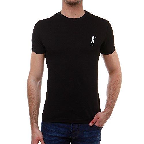 Boxeur Des Rues Série Exclusive T-shirt con Stampa sul Retro, Nero, M