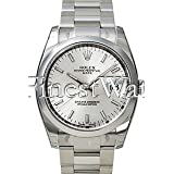 Rolex Date 34mm Blue Dial Stainless Steel Men's Watch 115200 (Color: Blue)