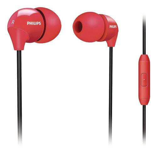 Philips She3575Bk/28 In-Ear Headset (Red)