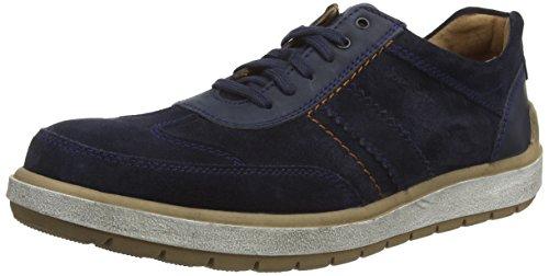 Josef Seibel Rudi 27, Low-Top Sneaker uomo, Blu (Blau (590 ocean)), 48