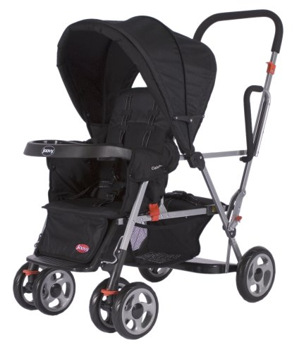 Best Review Of Joovy Caboose Stand On Tandem Stroller, Black