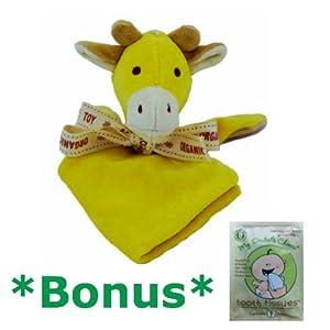 Miyim Simply Organic Lovie Blankie - Giraffe *BONUS* Tooth Tissue sample