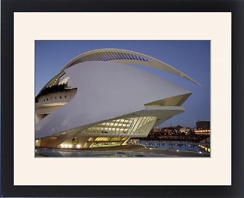 Framed Print Of Palau De Les Artes Reina Sofia (Queen Sofia Arts Palace), City Of Arts And