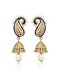 Peral Drop Earring By Zaveri Pearls