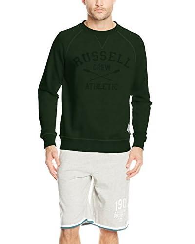 Russell Athletic Felpa  [Verde Scuro]