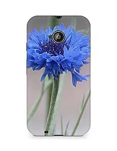 Amez designer printed 3d premium high quality back case cover for Motorola Moto E2 (Mist Flowers)