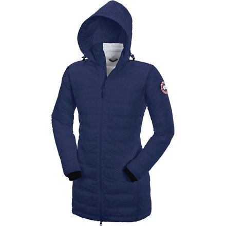 Canada Goose Women's Camp Hooded Jacket Pacific Blue Medium (Women Down Coat Canada Goose compare prices)