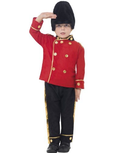 Big Boys' Busby Guard Costume Small (4-6)