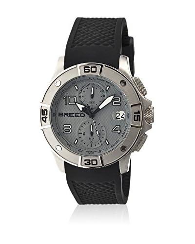 Breed Reloj con movimiento cuarzo japonés Brd5802 Negro 42  mm