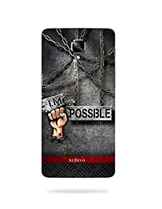 alDivo Premium Quality Printed Mobile Back Cover For OnePlus 3 / OnePlus 3 Back Case Cover (MKD124)