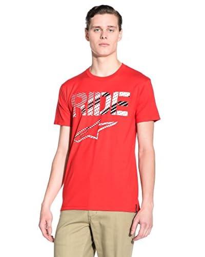 Alpinestars T-Shirt Crosshatch [Bianco]