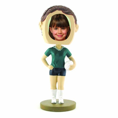 Female Volleyball Photo Bobble Head