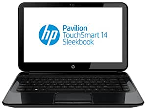 HP Pavilion TouchSmart 14-b173tu 14-inch Touchscreen Laptop (Sparkling Black) without Laptop Bag