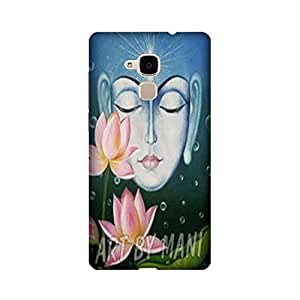 Printrose Huawei Honor 5C back cover High Quality Designer Case and Covers for Huawei Honor 5C Buddha