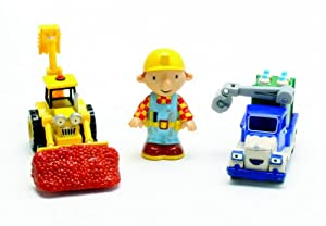 Bob the builder 3 piece character pack take along 65525 amazon co