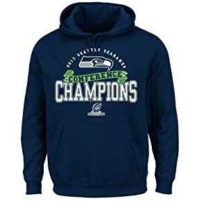 NFL Seattle Seahawks Mens Conference Choice VI Fleece Pullover by VF LSG